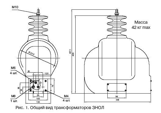 1/1/1-0-0. Варианты обозначения: трансформатор ЗНОЛ10 III, ЗНОЛ10III, 3НОЛ-10.  Схема и группа соединения обмоток.